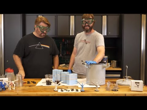 Casting Resin Minis with Trenchworx | MCDM Garage