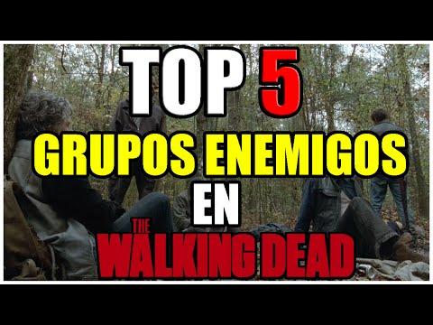 Top 5: Grupos Enemigos En The Walking Deadᴴᴰ