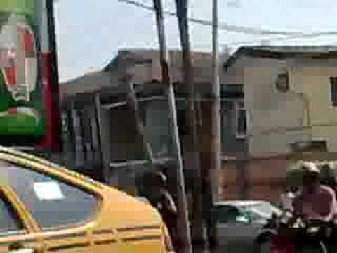 Sunny drive on Lagos Road