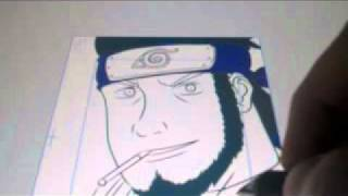 Drawing Asuma on the wacom cintiq 21ux
