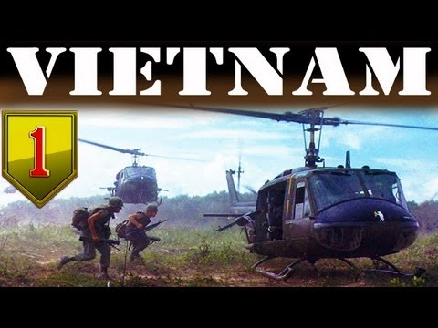 The Vietnam War - 1st Infantry Division_Full Length Historical Documentary_Combat Footages in Color