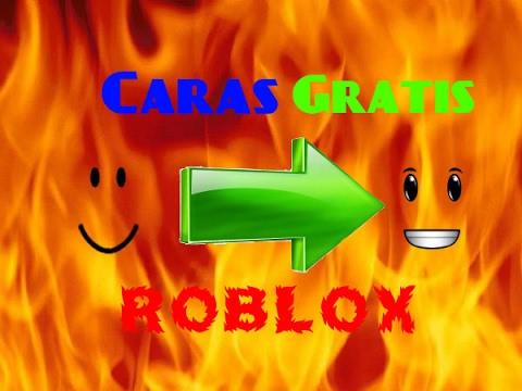 Como Tener Caras Gratis En Roblox Sin Robux Youtube
