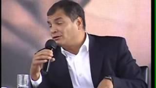 Presidente Rafael Correa (Ecuador):