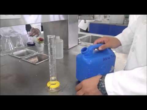 Practica 4. Determinación de de dureza total Metodo Titulometrico con EDTA