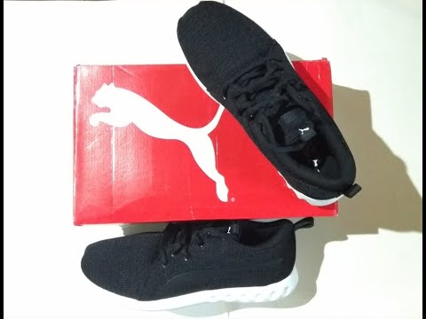 PUMA Carson 2 New Core men's black/white shoes Unboxing