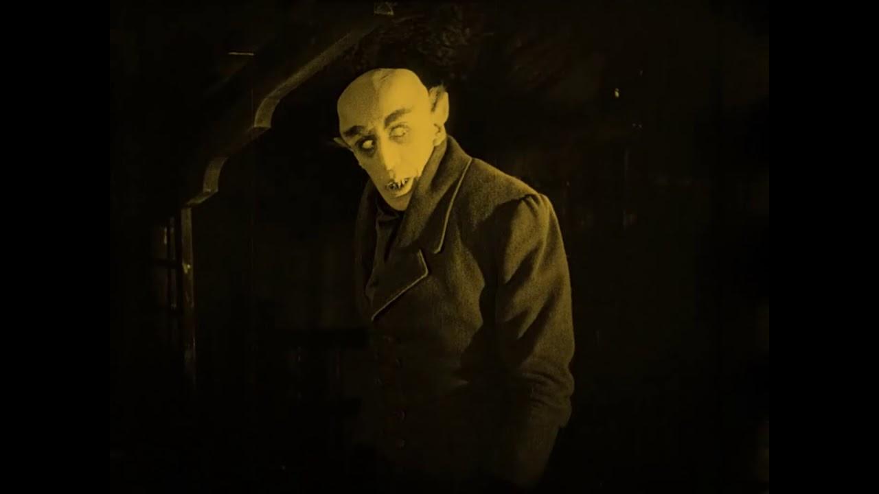 """Самый Первый Фильм Ужасов Про Вампиров """"Носферату, Симфония Ужаса ..."""