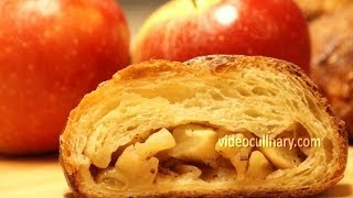 Danish Pastry with Apple Filling (Braided Coffee Cake) Recipe