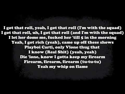 Playboi Carti & Lil Uzi Vert - Firearm (Prod. Chinatown) - Lyrics