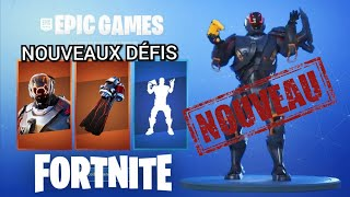 """FORTNITE: HOW TO GET THE NEW SKIN SECRET VISITEUR - """"Meteoric Rise"""" challenges"""
