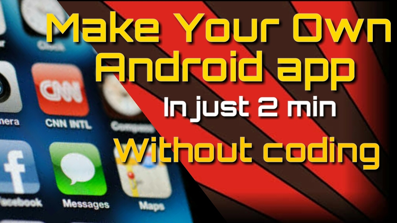 Make Your Own Android App For Youtube Channel Website Youtube