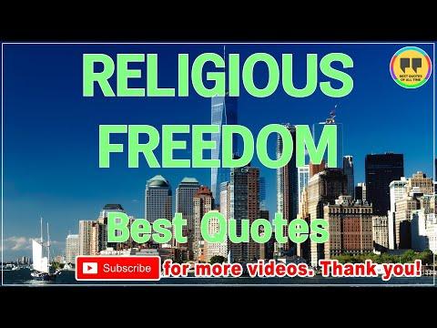 TOP 100 RELIGIOUS FREEDOM QUOTES - Best Freedom Quotes