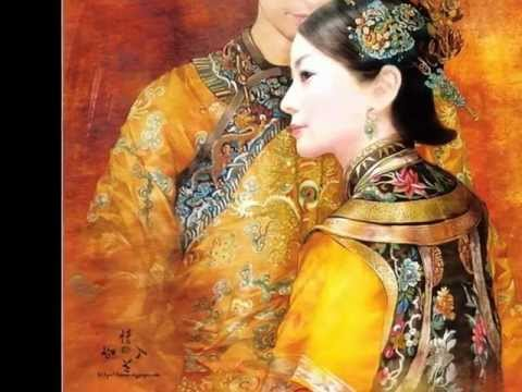 Qing Dynasty Beauty 工笔人物画