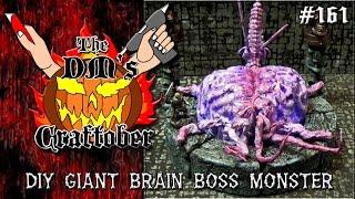 Make a GIANT BRAIN Boss Monster for D&D (DM's Craftober #161)