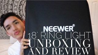 Neewer '18 Ring light Unboxing & Review