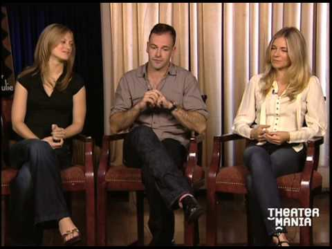 Sienna Miller, Jonny Lee Miller, and Marin Ireland After Miss Julie