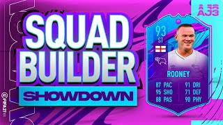 Fifa 21 Squad Builder Showdown!!! END OF ERA WAYNE ROONEY!!!