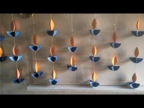 Easy diwali decoration ideas l Diwali home decoration l Diwali decoration diy
