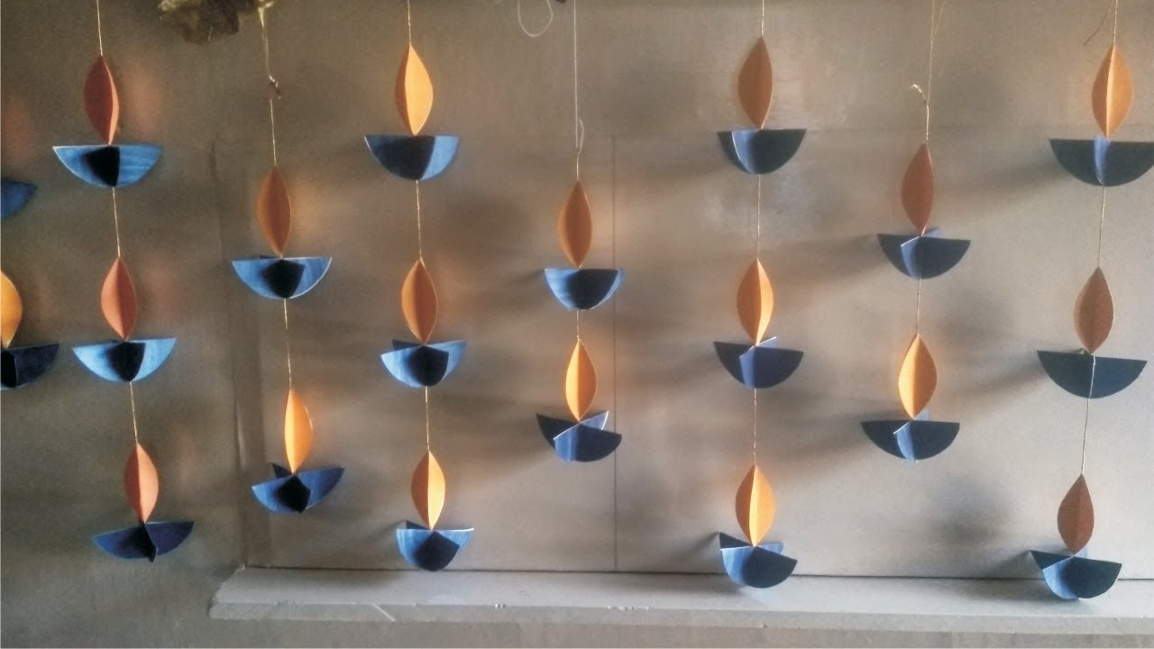 Easy Diwali Decoration Ideas L Diwali Home Decoration L Diwali Decoration  Diy