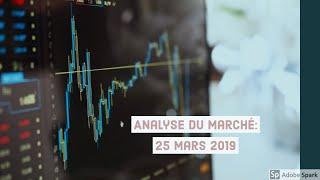 Forex Trading Stratégie: Analyse du marché du 25 Mars 2019 (Opportunités de trade D1, H4, H1)