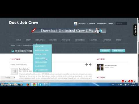 Employer profile From Dock Job Crew- Post Yacht Jobs and Download Crew Cvs