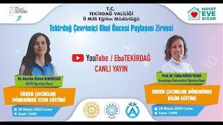 Çevrimiçi Okul Öncesi Paylaşım Zirvesi (3.Gün)