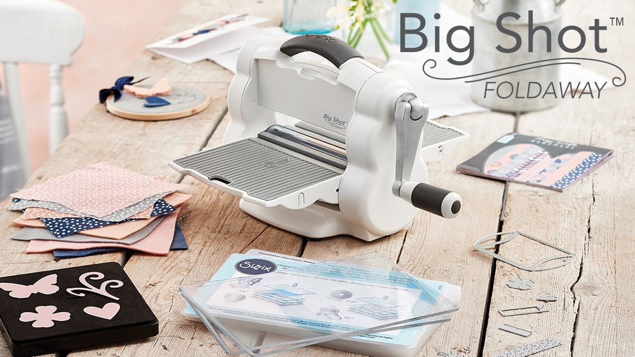 Sizzix Big Shot Foldaway Die Cutting Machine 662220