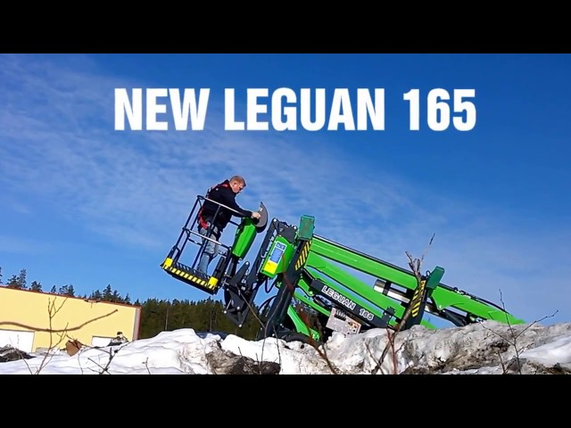Leguan 165: Efficient spider lift with great outreach (2016)