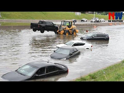 Update World's Scariest Flash Flood - Flash Flood Compilation #42- Severe Natural Disaster