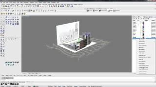 Rhinoceros 5.0 ВИДЕОУРОК построение рельефа для объекта №4