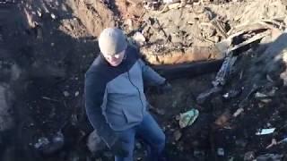 Раскопки мамонта в городе Нюрба