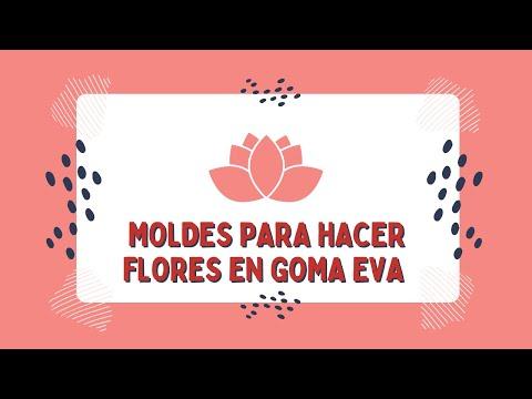 Arbolitos de navidad en goma eva youtube - Adornos navidenos de goma eva ...