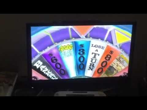 Wheel of Fortune Nintendo Wii (iPad Version) (Game 17) (Part 2)