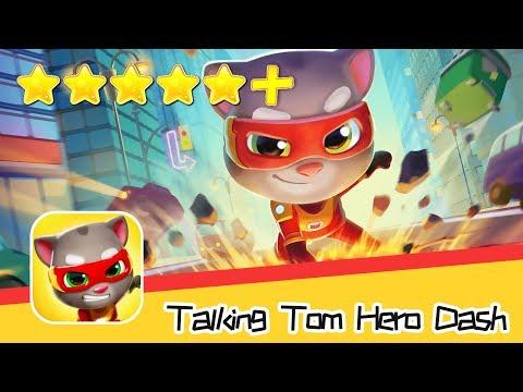 Talking Tom Hero Dash Walkthrough New Map Recommend Index Five Stars+