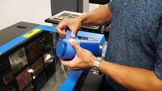 How To Laser Etch Duracoat Yeti