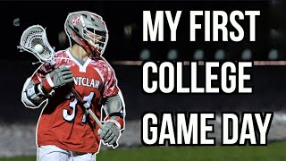 My First College Lacrosse Game