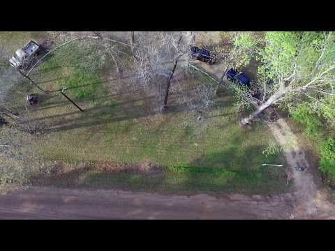 Mowing House in the Country Cinematic Bird's Eye View (Husqvarna Z248F)