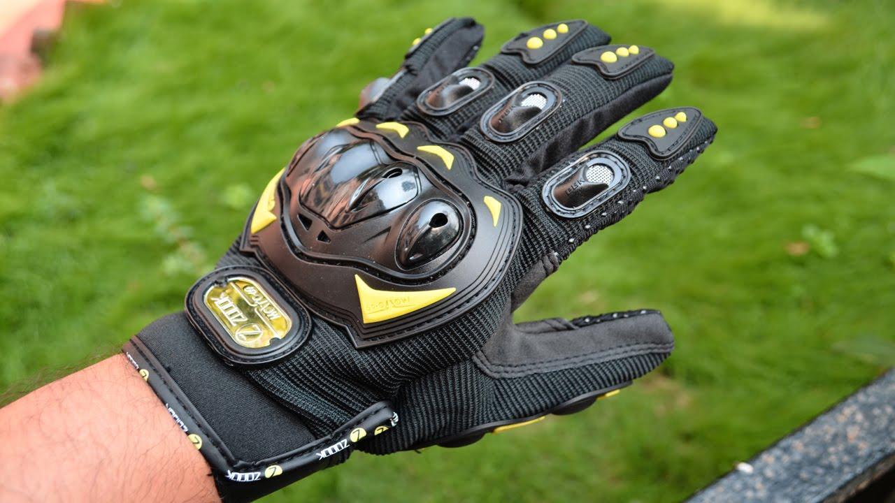 Motorcycle gloves bangalore - Zoook Moto69 Premium Pro Biker Gloves Motorcycle Gloves Review