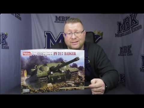 MBK packt aus #247 - 1:35 FV217 Badger [Amusing Hobby 35A034) - YouTube