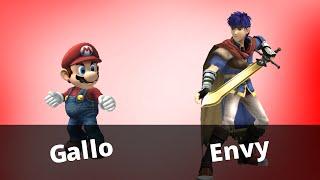 WTT2 - Gallo (Mario) vs Envy (Ike) - Losers Finals - Project M