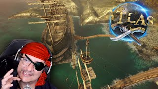 Piratas del Naribe | Como destruir un barco | Voladores de papantla