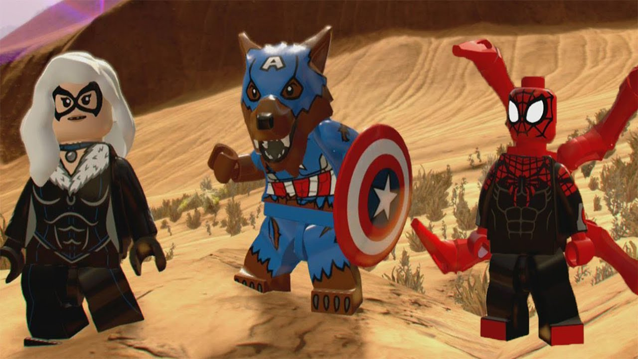 LEGO Marvel Superheroes 2 - All Character Tokens Locations
