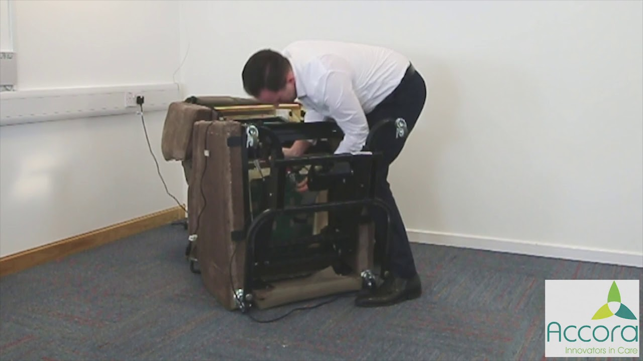 Fitting and removing Configura Comfort actuator