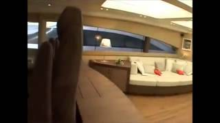 George P - AB Yachts 92 Crewed Private MotorYacht charter in Greece