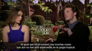 Entrevista a Emilia Clarke y Sam Claflin - Yo Antes de Ti streaming