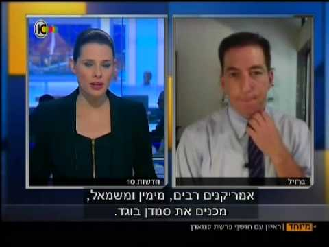 Glenn Greenwald on Israeli Television