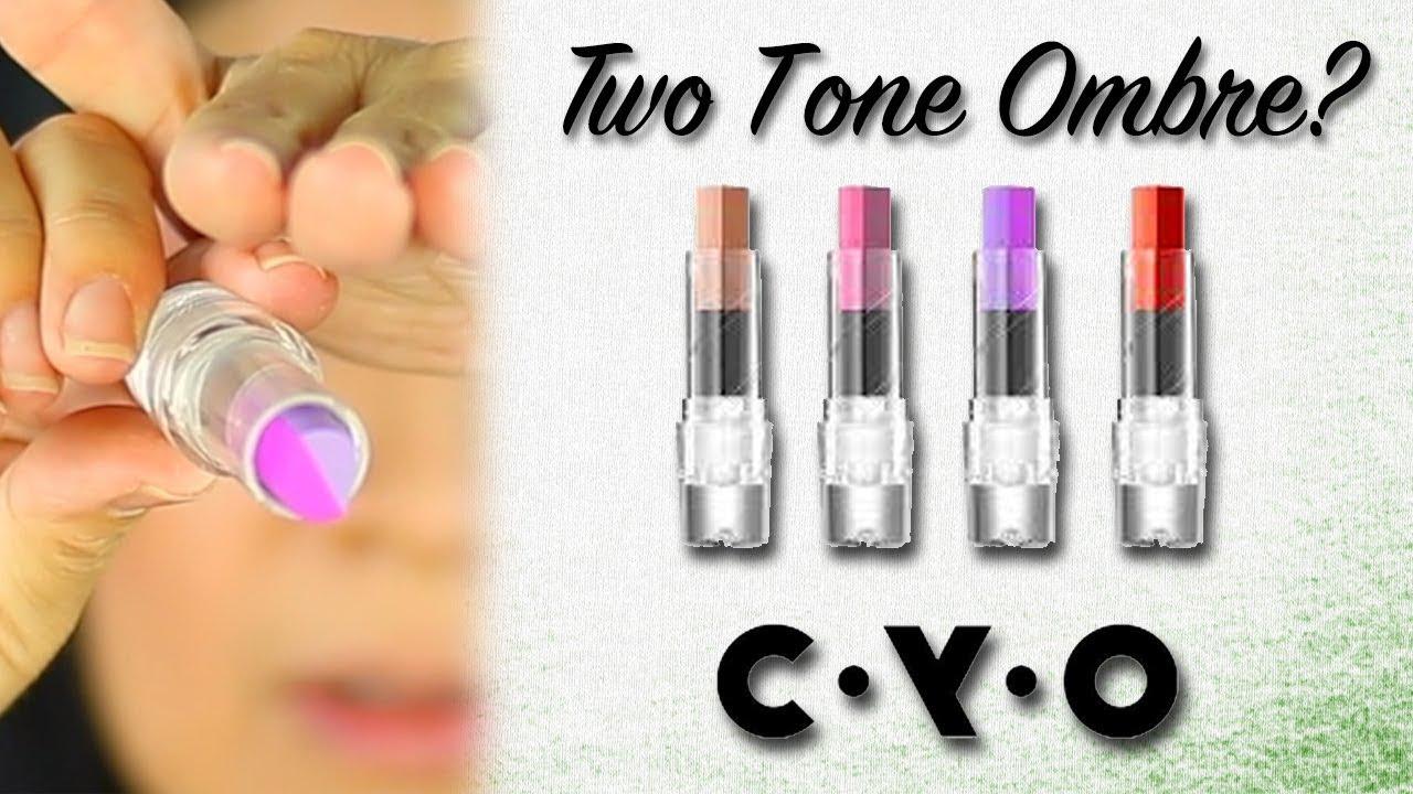 CYO Two Tone Twist Ombre Lipstick