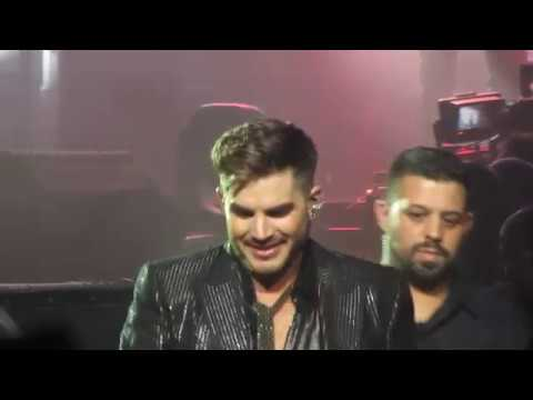 Radio Gaga Adam Lambert Queen Auckland New Zealand 2018 Feb 18