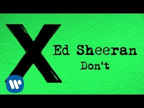 Thumbnail: Ed Sheeran - Don't [Official]