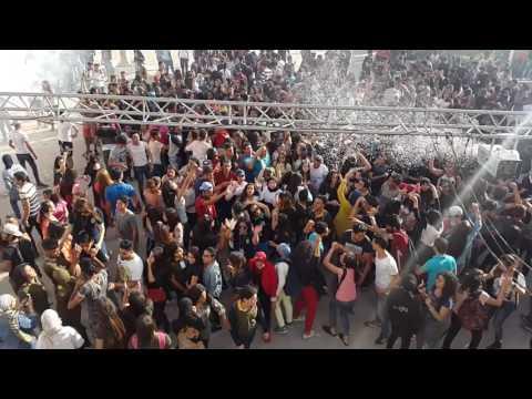 Festival de couleur au lyccée Med Ali Sfax Bac 2017