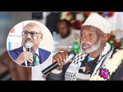 Suldaanka Guud Ee Somaliland Oo Rali Gelin Ka Bixiyay Hadalkii Faysal Cali Waraabe